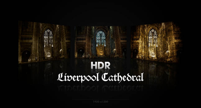 Liverpool Cathedral HDR