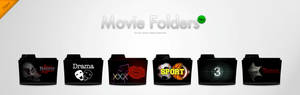 Movie Folders - IconSet