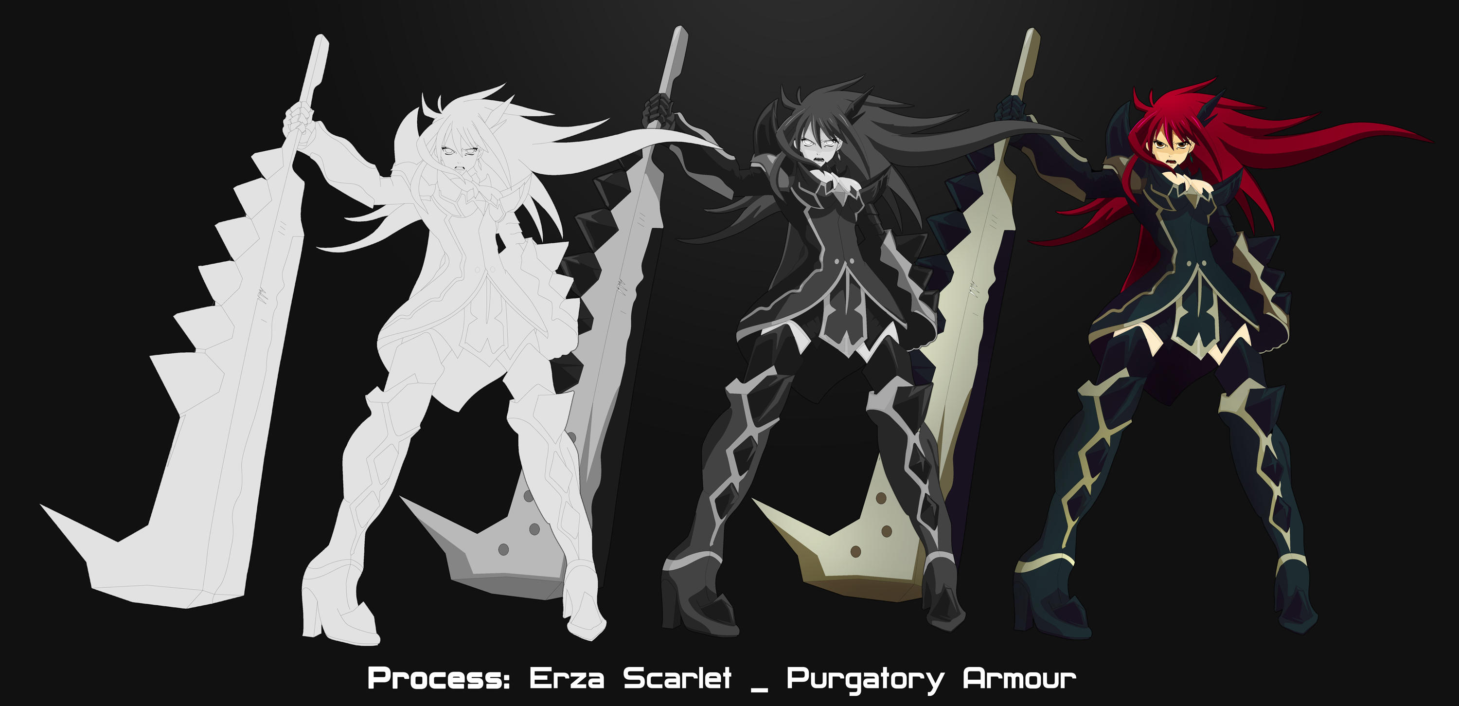 :: Erza Scarlet _Purgatory  Armour :: by Alex-Sap