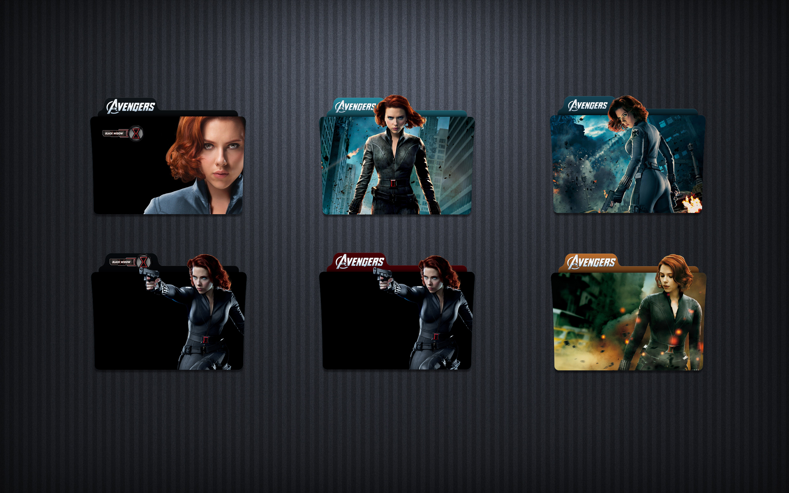 Black Widow Folder Icon Pack By Sherlocklogy On Deviantart