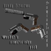 Wesker's Samurai Edge Pack by DamianHandy