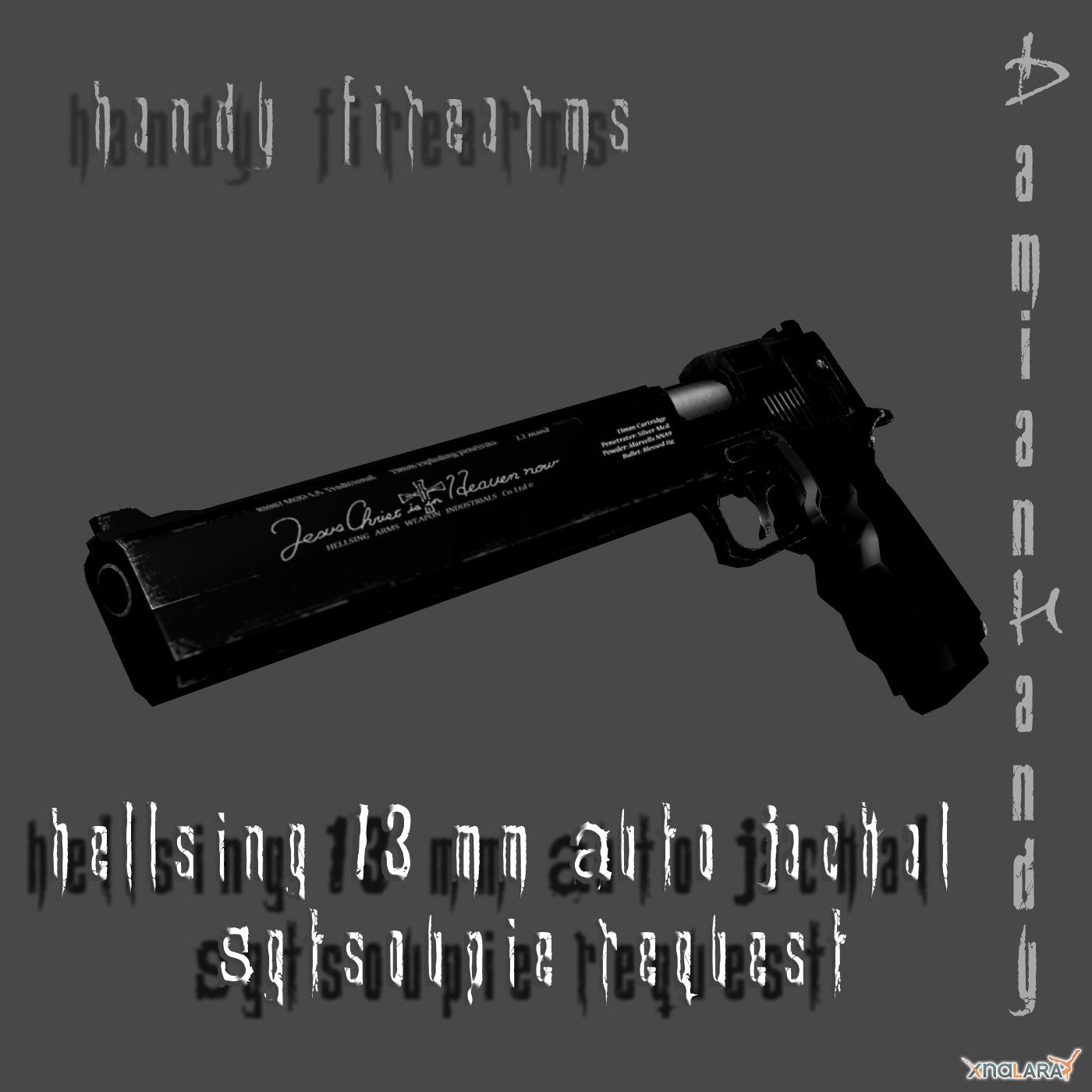 Hellsing 13mm Auto Jackal