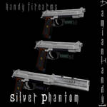 Silver Phantom Handgun Pack by DamianHandy