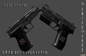 U.B.C.S. Merc Handgun Pack by DamianHandy