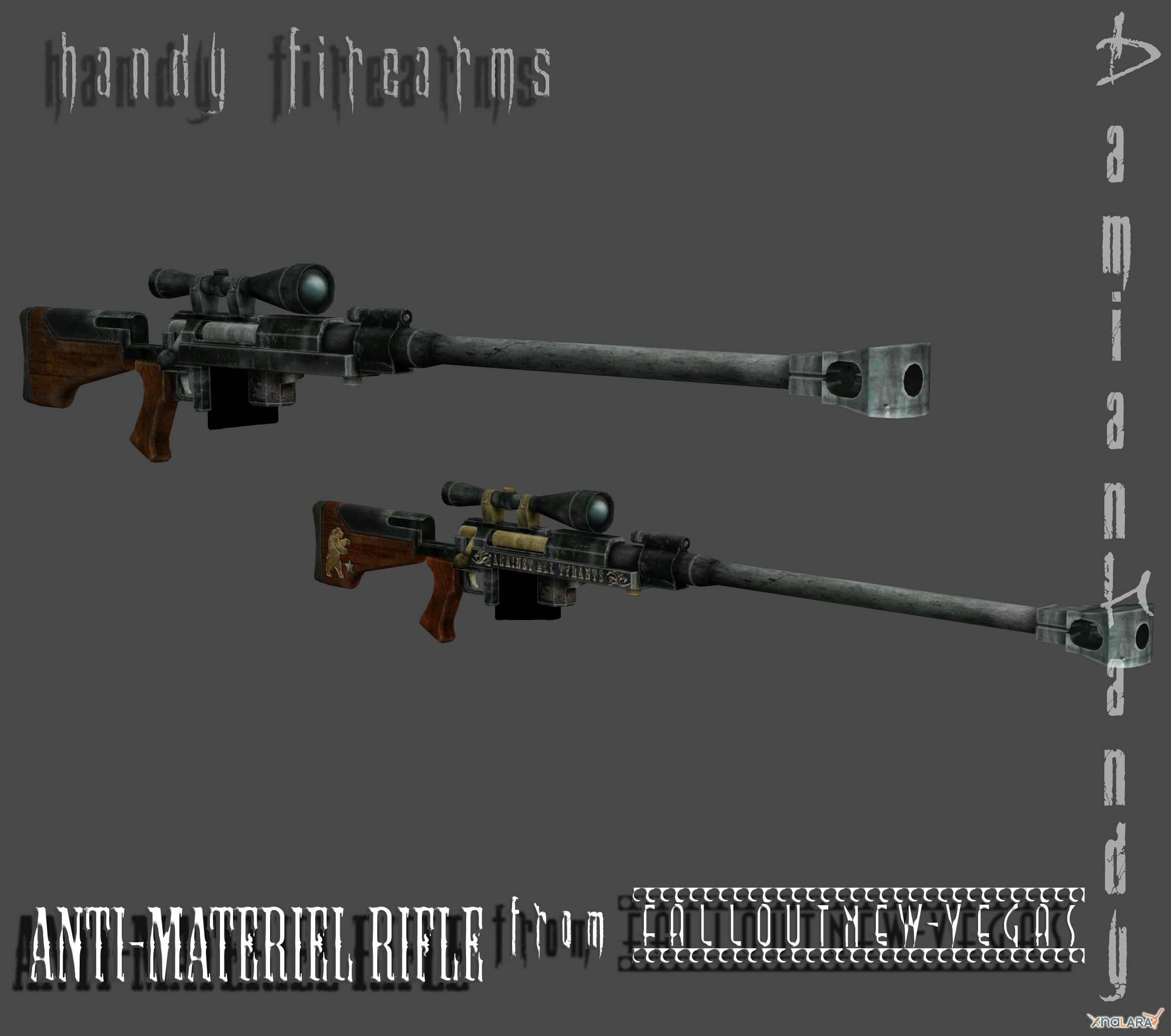 Anti Materiel Rifle anti-materiel rifle (fall out nv)damianhandy on deviantart