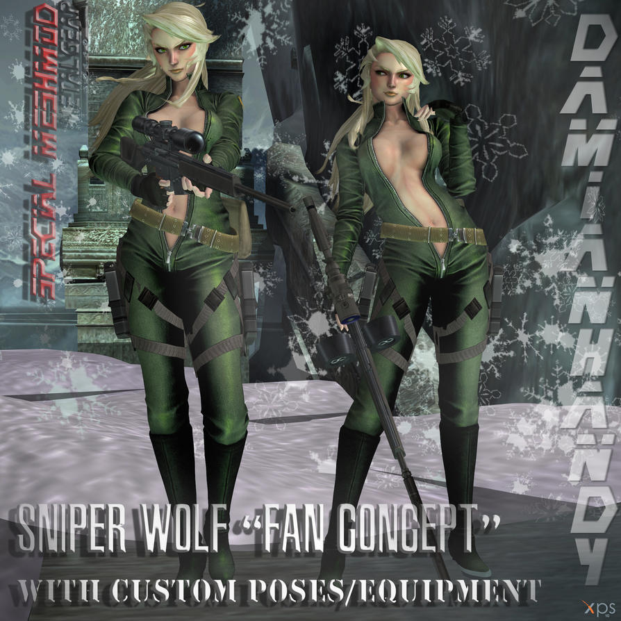 'Concept' Sniper Wolf Custom Mesh Mod by DamianHandy