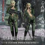 'Concept' Sniper Wolf Custom Mesh Mod