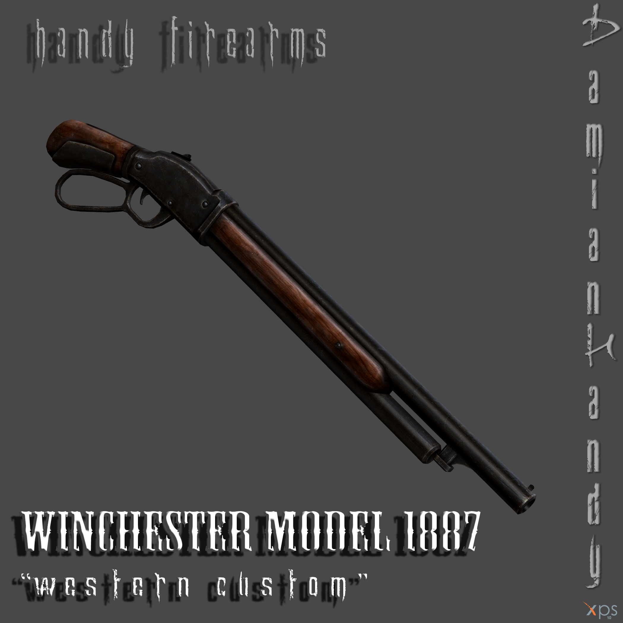 Winchester Model 1887 'Western Custom' by DamianHandy on