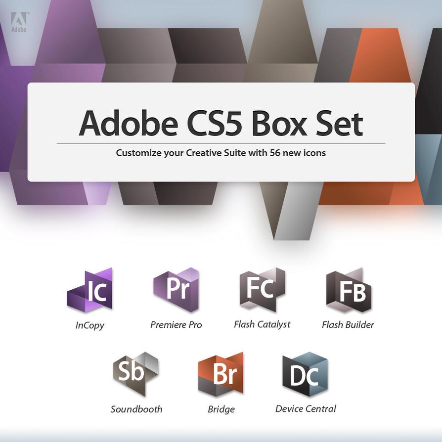 CS5 Box Set - Apps 2 by nokari