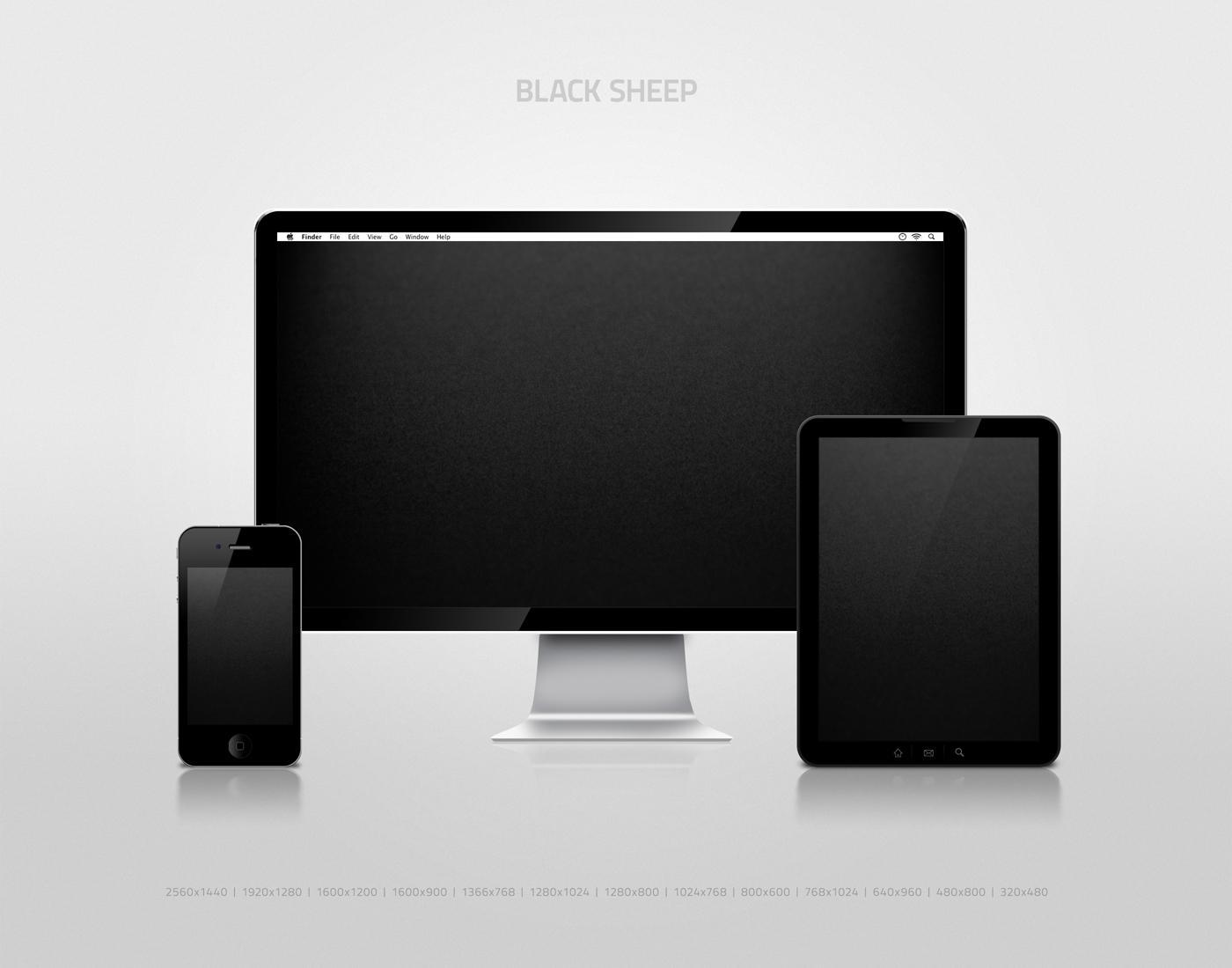 Black Sheep Wallpaper by nokari