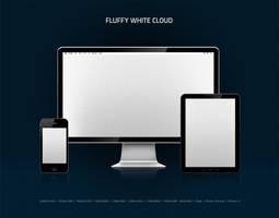 Fluffy White Cloud by nokari