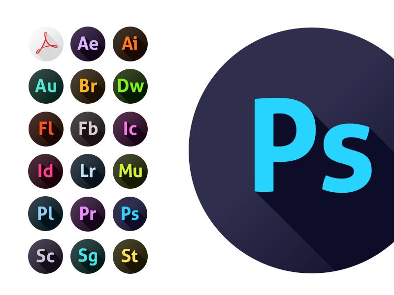 Adobe CC Icons by nokari