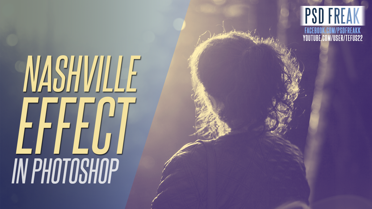 Photoshop Action | Nashville | instagram Effect by t-fUs