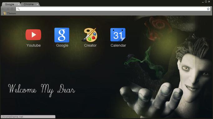 How to change my google chrome theme