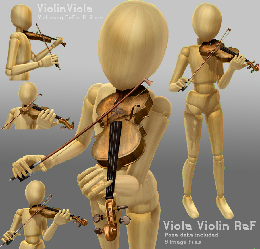 Pose 1 - Viola/Violin by The-Pose-a-bilities