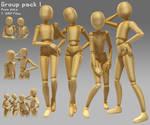 Group pose -1