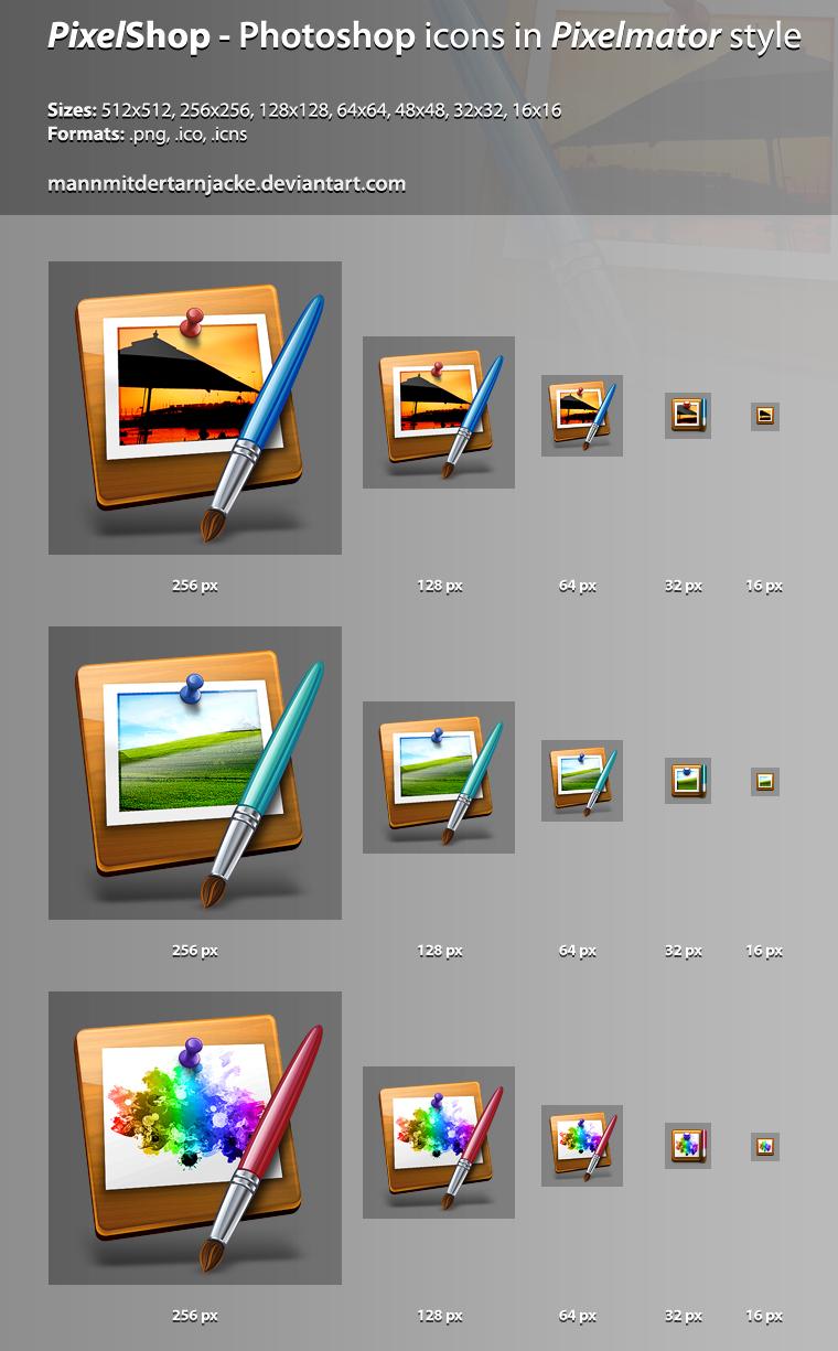 PixelShop Icon