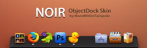 Noir ObjectDock by MannMitDerTarnjacke