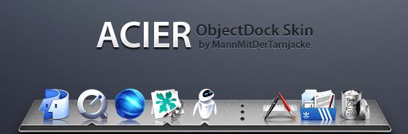 Acier ObjectDock by MannMitDerTarnjacke