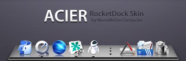 Acier RocketDock