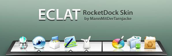 Eclat RocketDock by MannMitDerTarnjacke