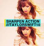 Sharpen action #10