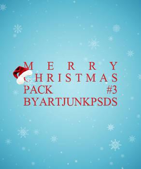 THIRD CHRISTMAS PACK BY ARTJUNKPSDS by art-psds-junk