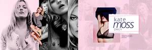 Kate Moss Header - premade by DSGNlab by art-psds-junk