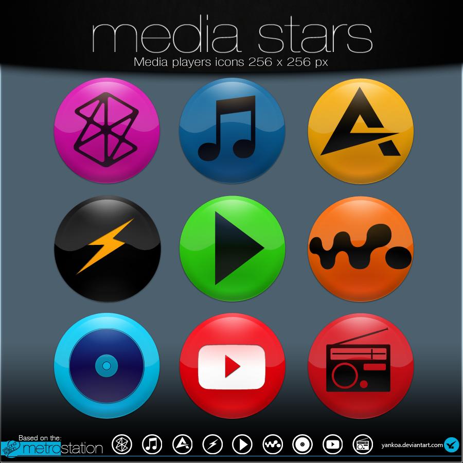 Media Stars by yankoa