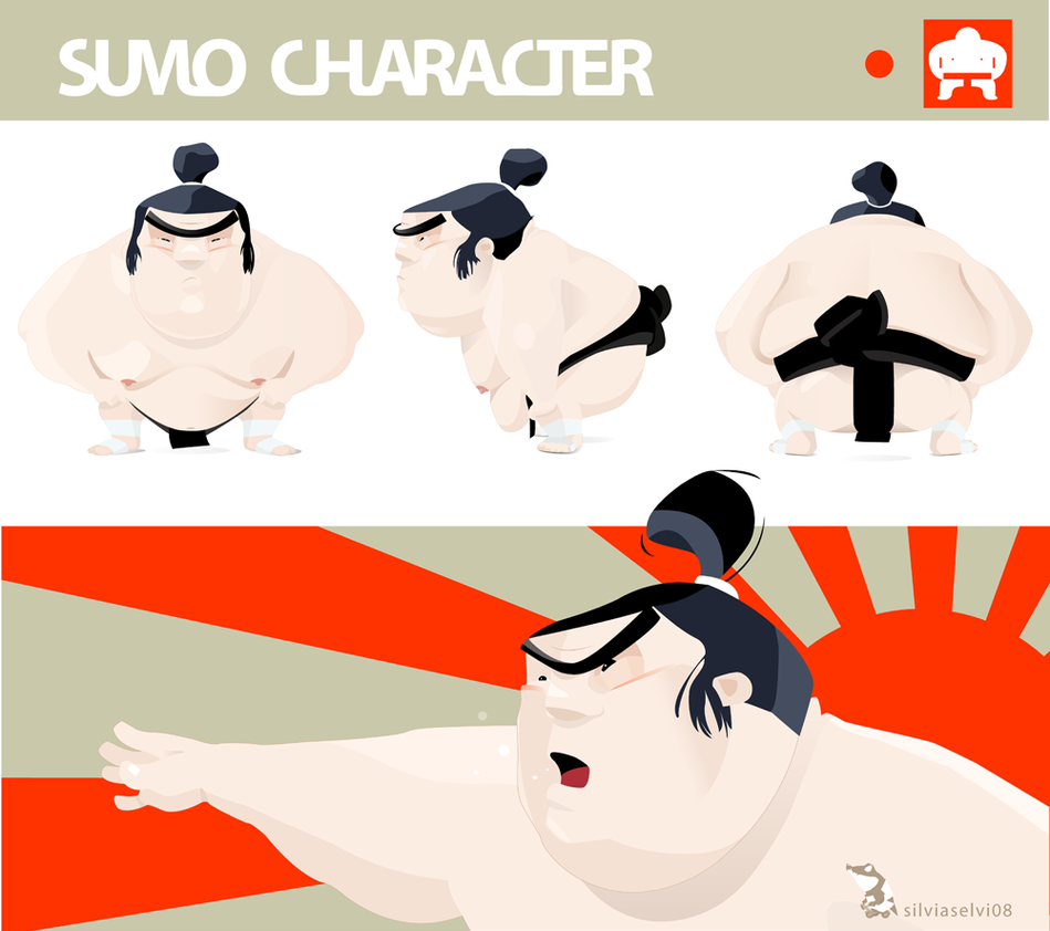 Sumo character by wizzyloveszebras
