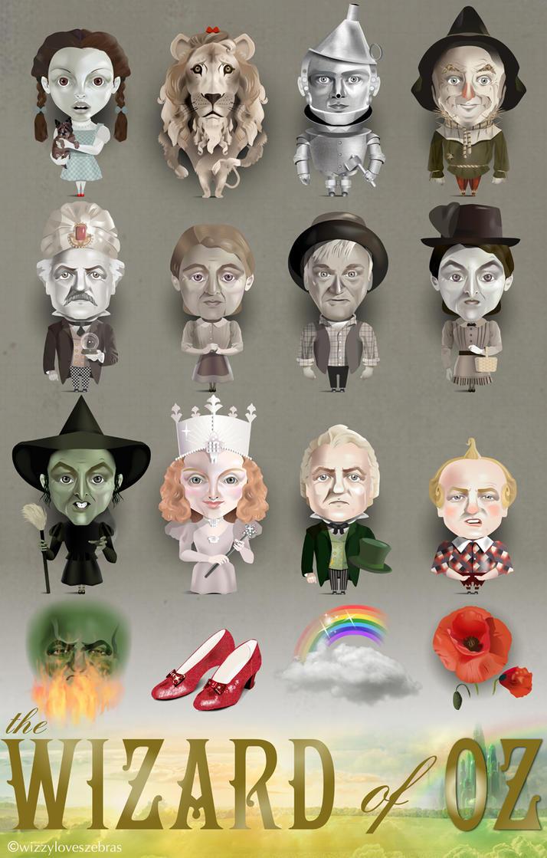 Wizard Of Oz by wizzyloveszebras