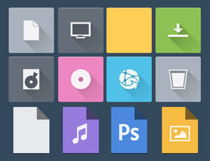 Flat for IconPackager