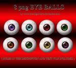 EYE BALLS by www.the-night-bird.deviantart.com