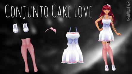(Pack) Conjunto Cake Love by AngieUtauChan