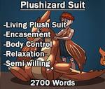 Plushizard Suit (Living Plush)