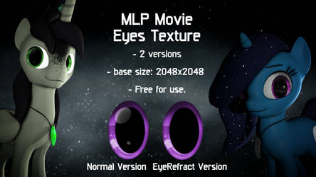 MLP Movie Eyes Texture (SFM addons)