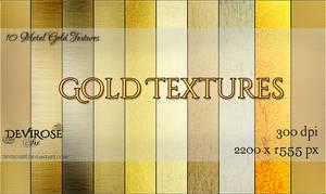 Gold Textures Set