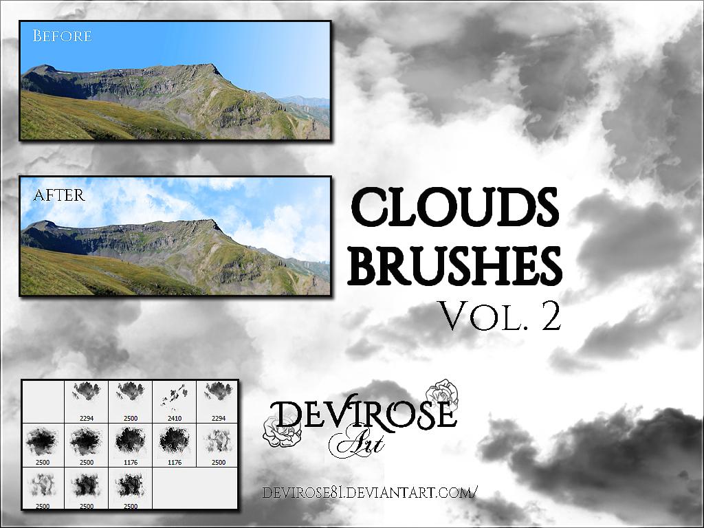Cloud Brushes Set Vol.2 by Devirose81