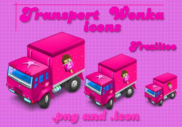 Icons transport wonka by Freziitoo