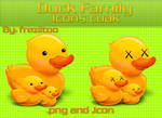 Icons Duck Family
