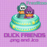 icons Duck friends