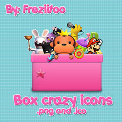 Box icons crazy by Freziitoo