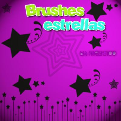 Brushes estrellas by Freziitoo
