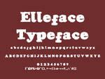 Elleface Typeface by spud1077