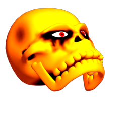 skull head banging