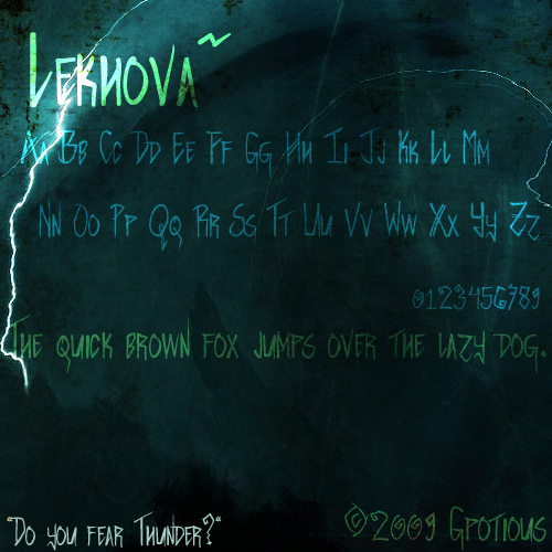 FONT: Lekhova by Gpotious