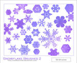Snowflake Brushes 2