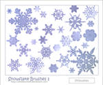Snowflake Brushes 1