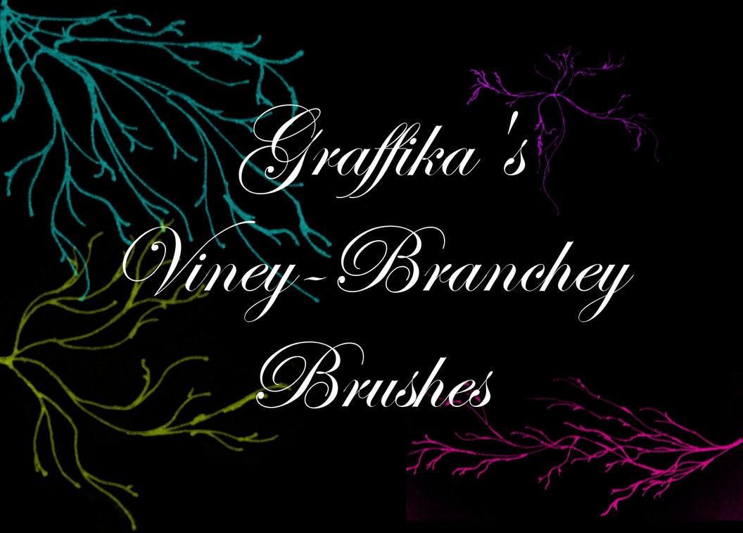 Viney-Branchey Brushes by graffika