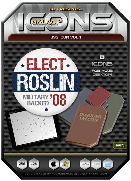 BSG Icons Vol 1 by CQ - Win by BSG75